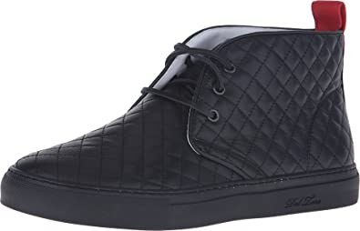 53eaf47b6ff0 Del Toro Men s Quilted Leather Chukka Sneaker
