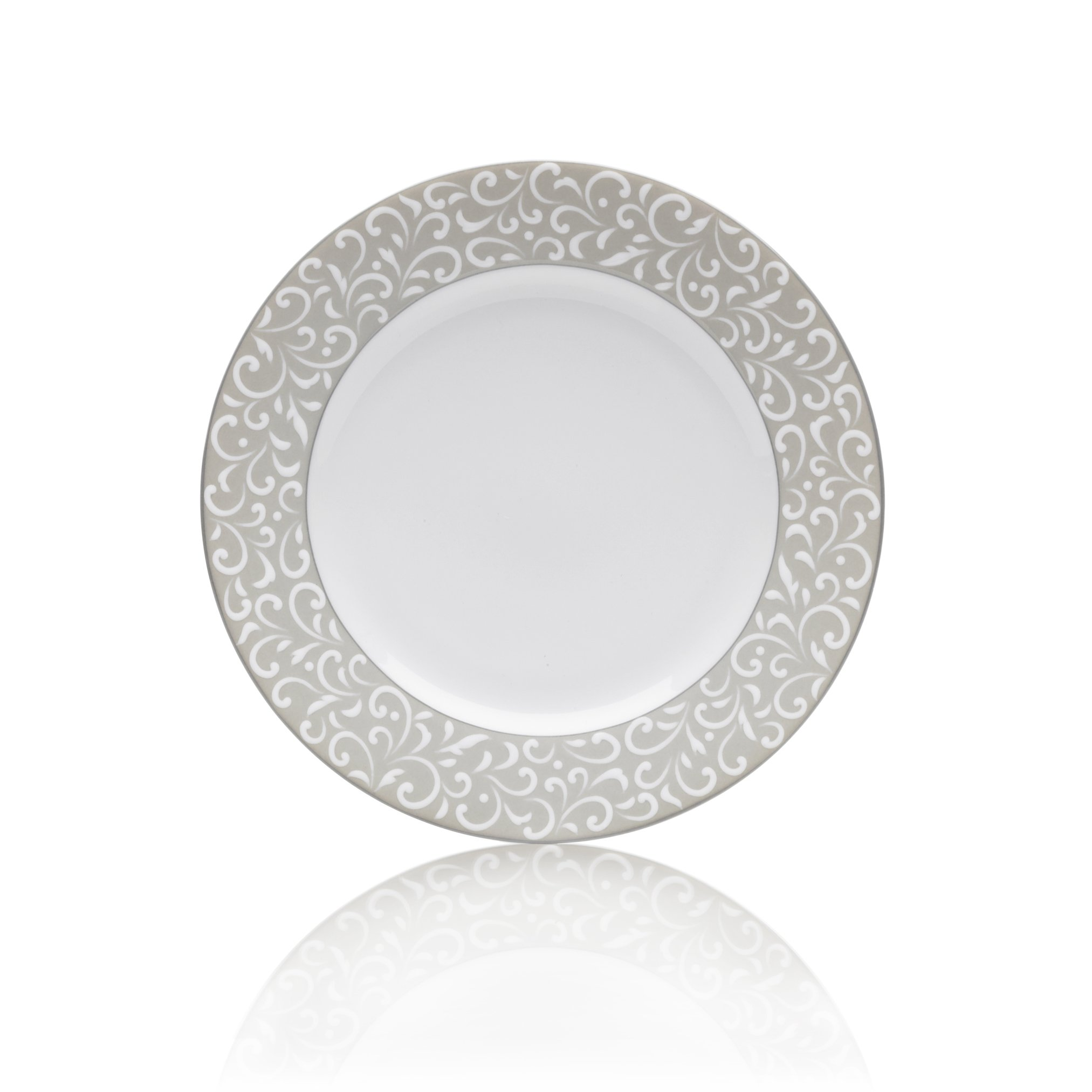 Mikasa Grace 6-3/4-Inch Bread and Butter Plate, White