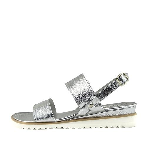 0209cab79924d4 Kick Footwear Donna Estate Comfort Cuoio Sling Indietro Sandali: Amazon.it:  Scarpe e borse