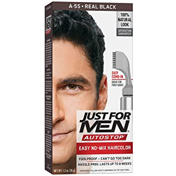 Buy Just For Men Autostop Hair Color Real Black Online At Low Prices