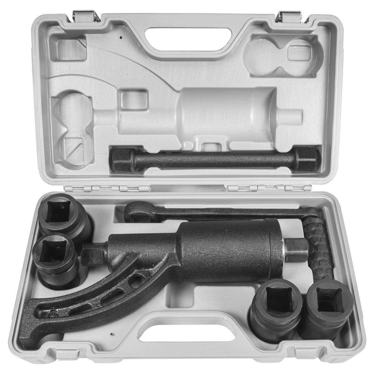 STKUSA Torque Multiplier Labor Saving Lug Nut Wrench W/ 4 Cr-v Socket 5400NM