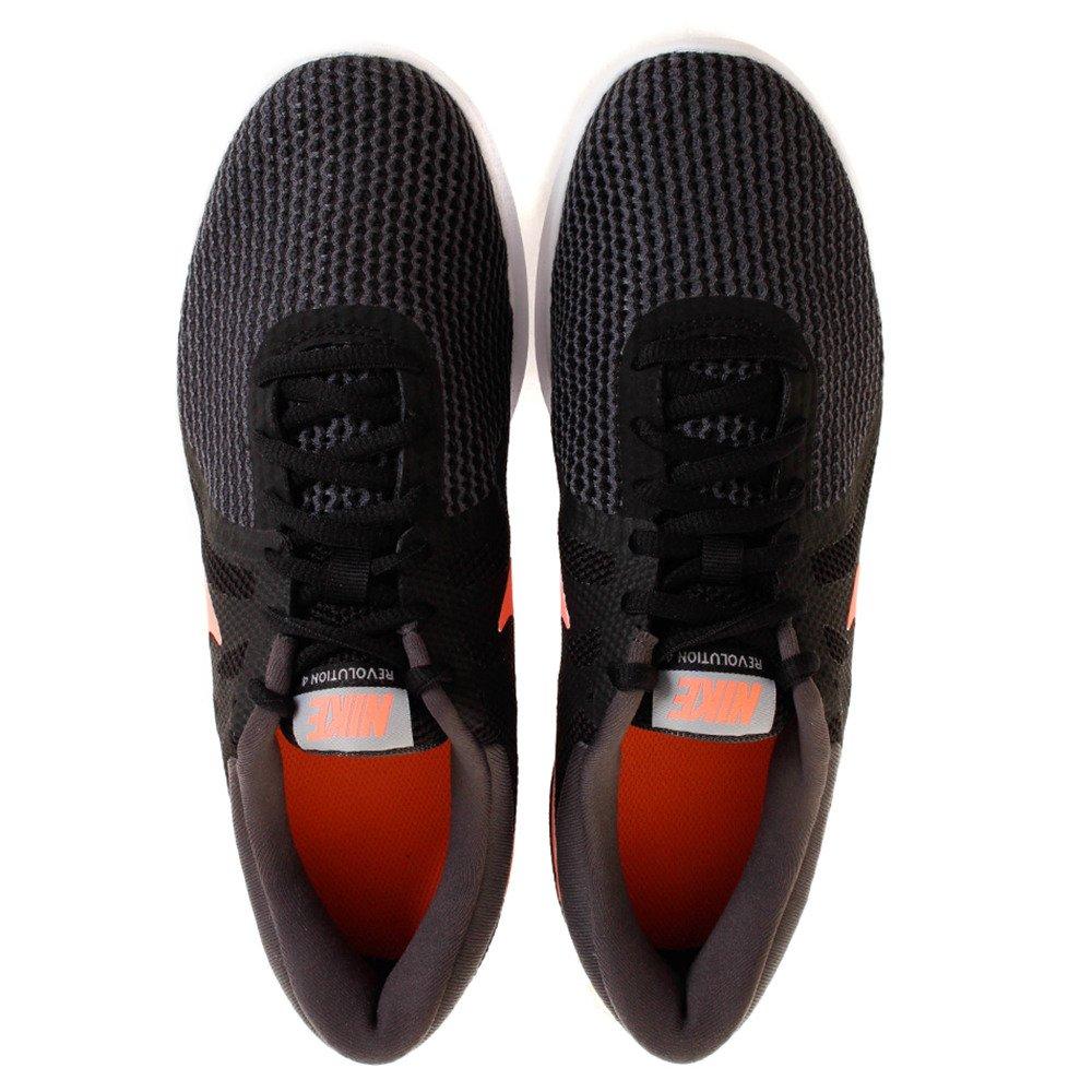 NIKE Women's Revolution 4 Wide Running Shoe B005A0IAYI 6.5 B(M) US|Black Crimson Anthracite Grey