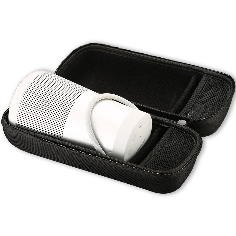 Bose SoundLink Revolve+ Case, ProCase Hard EVA Storage Travel Bag Carrying Case for Bose SoundLink Revolve+ Plus Wireless Speaker –Black