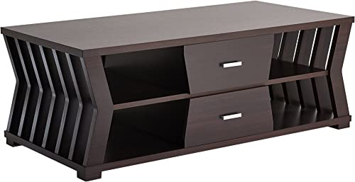 Furniture of America Canter Modern 2-Drawers Rectangular Coffee Table
