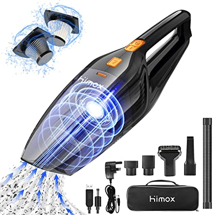 Small Hoover Handheld Vacuum Cleaner Cordless Car Vac Rechargeable Hover Pet UK