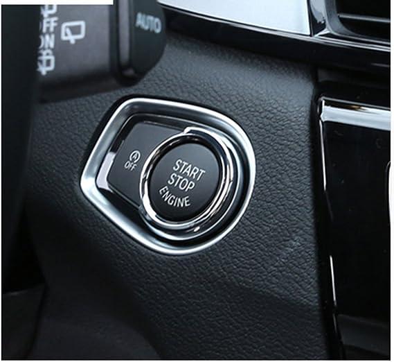 Motor Start Stop Schlüssel Ring Trim Abs Chrom Für Bmw X1 F48 1 2 3 4 Serie F30 2013 2017 Auto