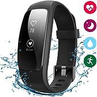 Pulsera Actividad IP67 Pulsómetro Bluetooth Monitor de Actividad Pulsera