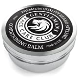 Beard Balm - Premium Quality Conditioning Butter For Creating Beard Styles, Goatees, Sideburns + Moustaches - Extra Large 60ml Tub Made In The UK To Improve Growth, Shine And Add Texture To All Beards - 100% Money Back Satisfaction Guaranteed
