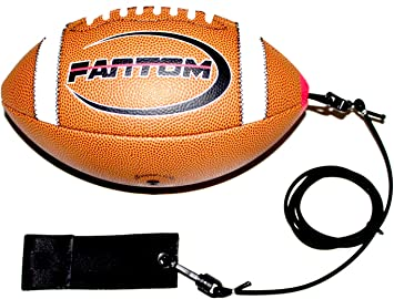 Youth Made in USA Throw /& Catch The Perfect Pass Junior Fantom Throw Football Trainer Improve Throwing /& Catching//Practice Indoors /& Practice Outdoors Mini Official Pee-Wee