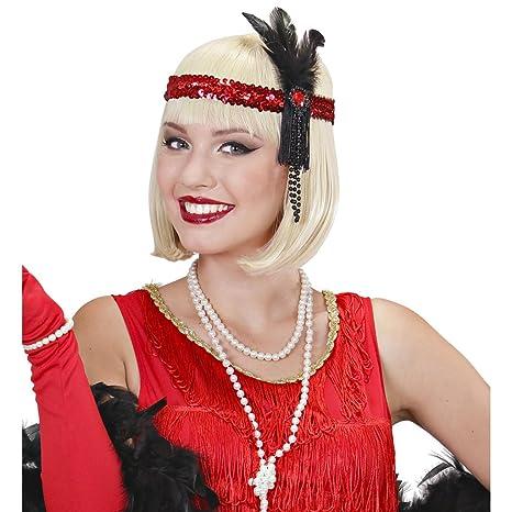 sélection premium 70a8a 2b74c NET TOYS Bandeau pour Cheveux Charleston Bijoux de Cheveux ...