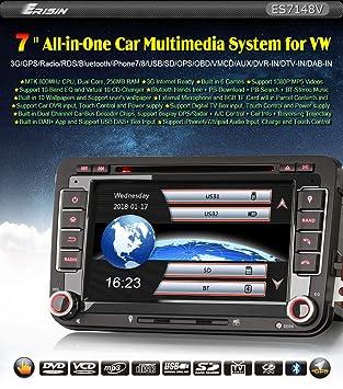 Autorradio Erisin Car Stero ES7148V 7