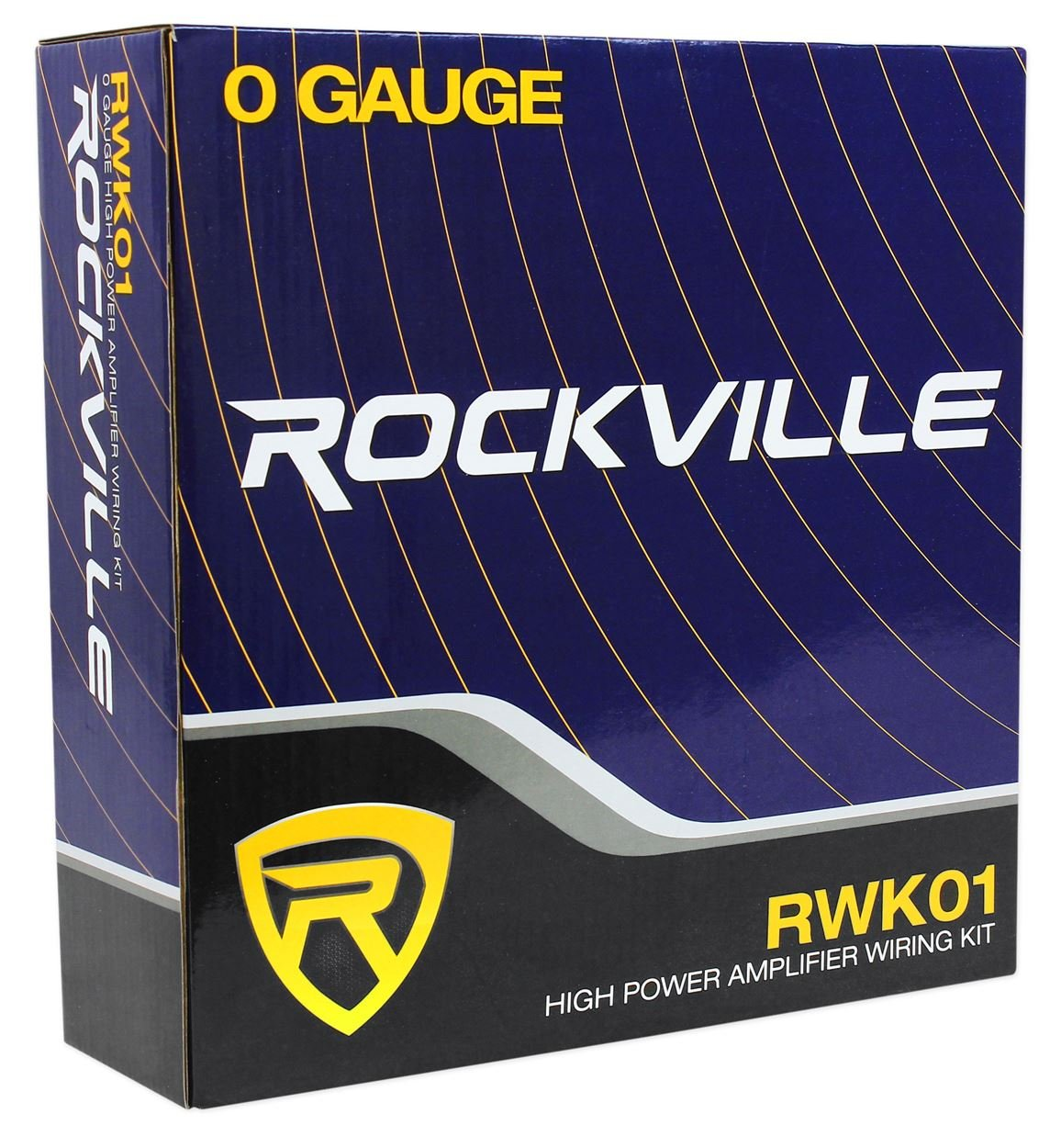Rockville Rwk01 0 Gauge Complete Car Amp Wiring Audio Amplifiers For Two Installation Wire Kit W Rcas Electronics