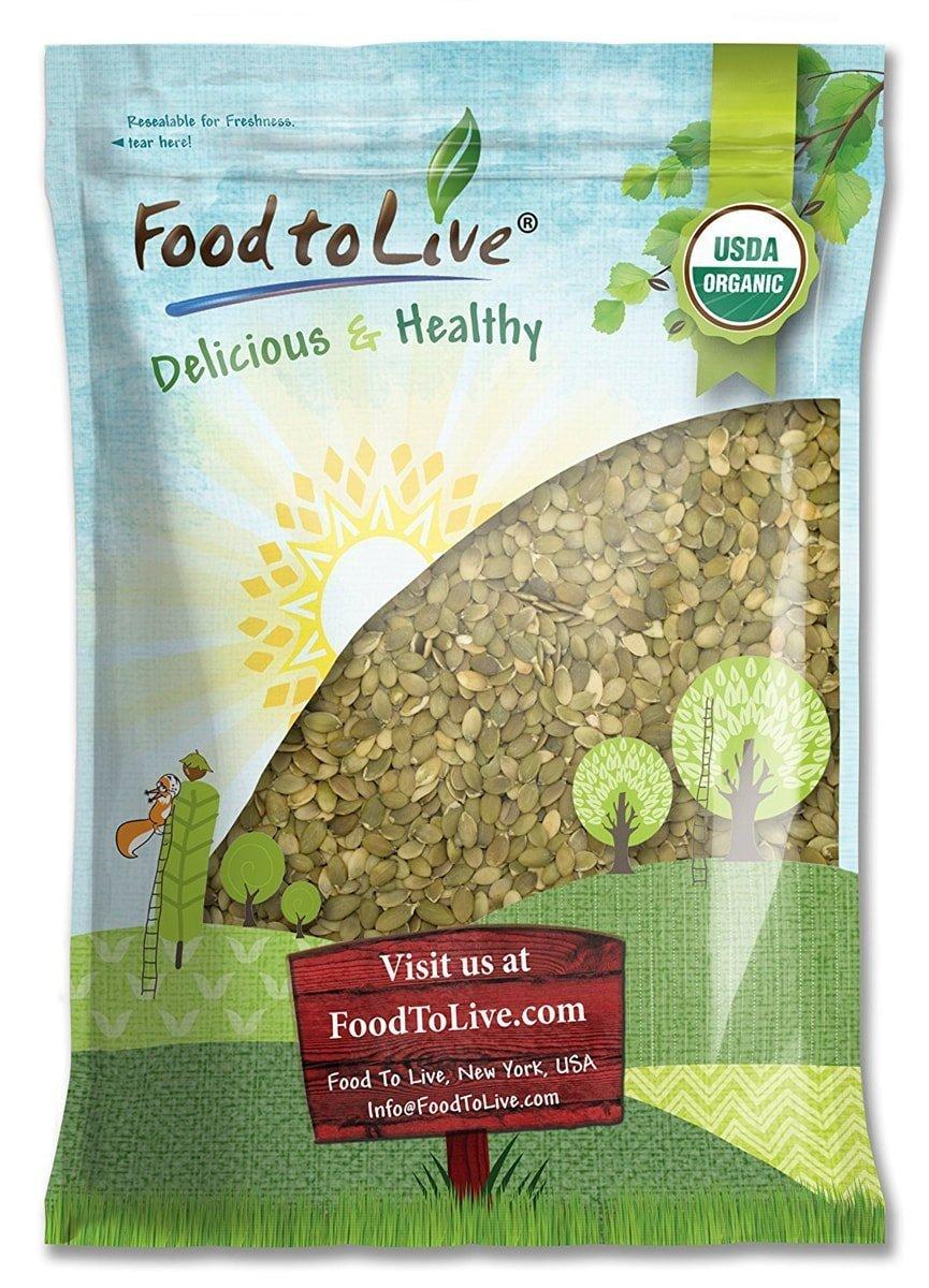Organic Sprouted Pumpkin Seeds by Food to Live (Non-GMO, Kosher, No Shell, Unsalted, Raw Kernels, Vegan Superfood, Bulk Pepitas) — 16 Pounds by Food to Live (Image #9)