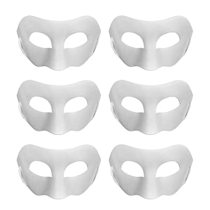 amazon com aspire bulk diy masks craft paper halloween masquerade
