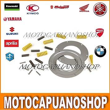 Kit parastrappi Reparación DRT 12 muelles reforzado Vespa PX 125 150 200: Amazon.es: Coche y moto