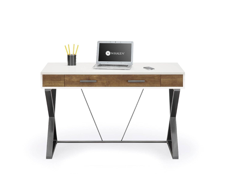 Amazon.com: Whalen JCS30203 2AD Samford Contemporary Computer Desk: Kitchen  U0026 Dining Part 46