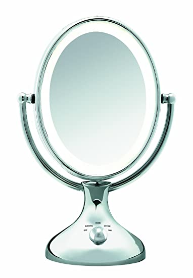 Amazon conair be18lcx double sided lighted makeup mirror conair be18lcx double sided lighted makeup mirror polished chrome mozeypictures Gallery