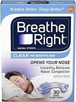60-Count Breathe Right Nasal Strips (Large)