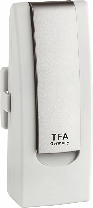 Blooming Weather 30.3303.02 Temperature//Humidity Transmitter/ White