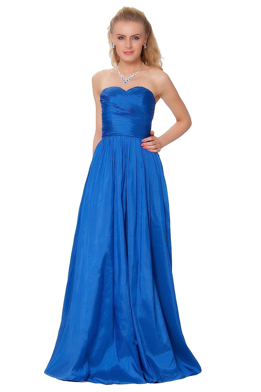 SEXYHER Gorgeous Full Length Strapless Bridesmaids Formal Evening Dress - EDJ1589