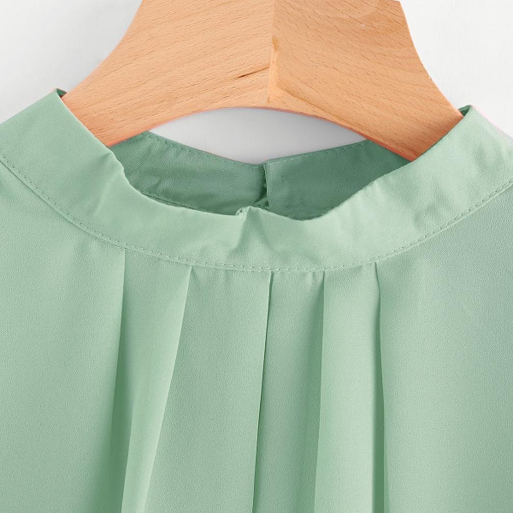 Amazon.com: Mujeres Camisa, entre la moda verano Blusa ...