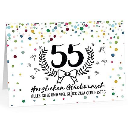Gluckwunschkarten zum 55 geburtstag