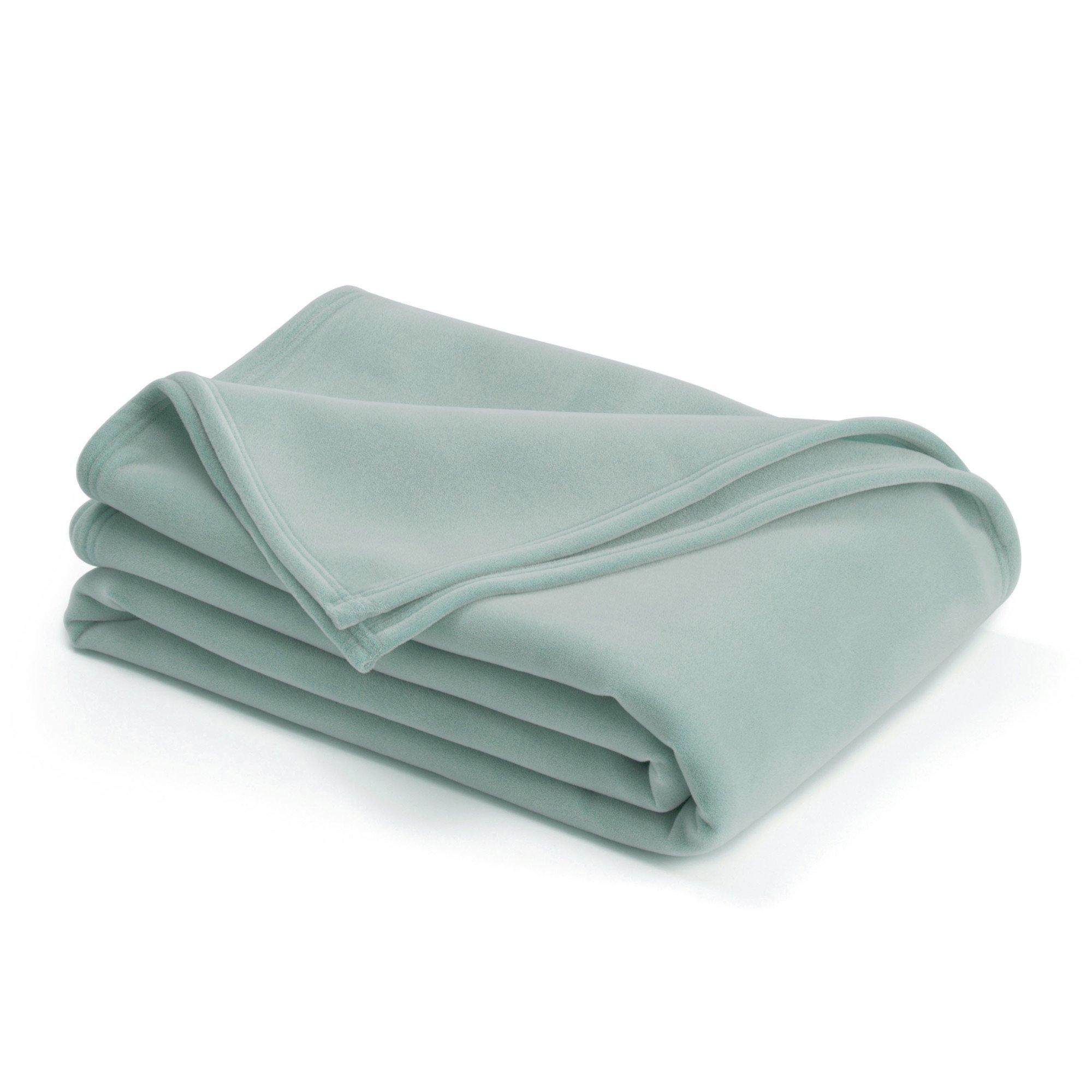 Vellux Original Blanket, Twin 66 x 90, Aqua