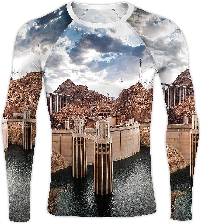 Tiger Dragon,Compression Baselayer Tops Long Sleeve T-Shirts Xmas Gift XS388 S