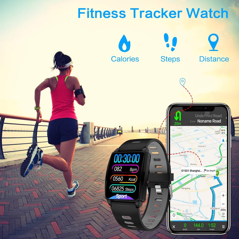 Cegar 2019 Versión Fitness Tracker, reloj inteligente con monitor ...