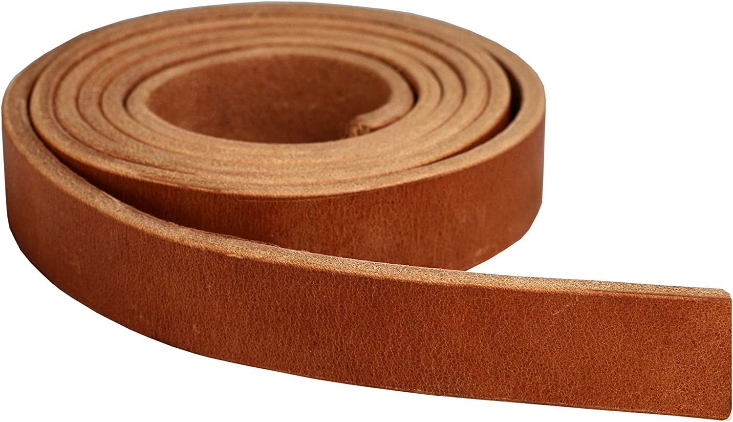 13//64 or 5.2 MM Thickness 13 Ounce Weight Great for Tack Repair Premium Hermann Oak Harness Leather Blank Strap Fully Finished /& Leveled Natural Russet Color 2 x 84 100/% Leather Strip