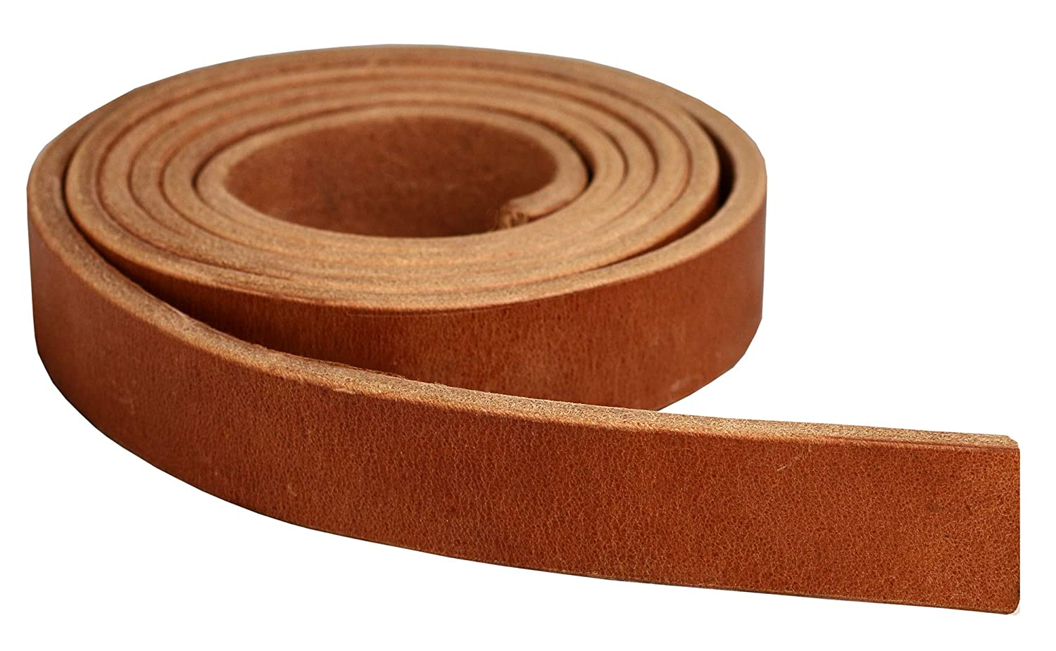 Great for Tack Repair Premium Hermann Oak Harness Leather Blank Strap 13 Ounce Weight 1.25 x 84 13//64 or 5.2 MM Thickness Natural Russet Color 100/% Leather Strip Fully Finished /& Leveled