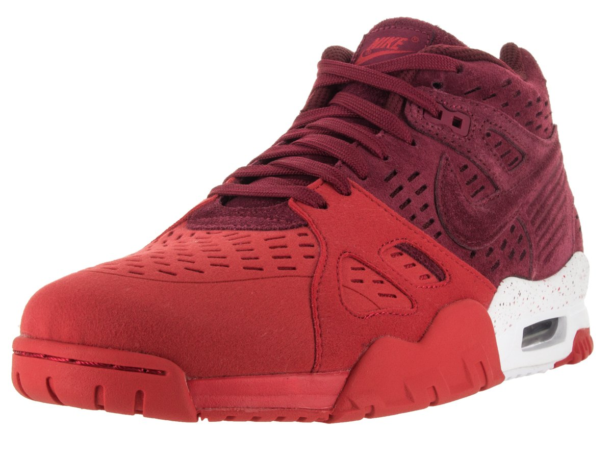 NIKE Men's Air Trainer 3 Le Training Shoe B01B9DYBRE 9.5 D(M) US|Team Red/Tm Rd/University Red/White