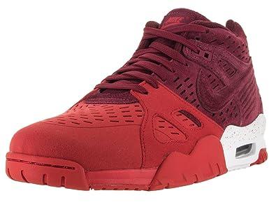 Nike Air Trainer 3 Le, Chaussures de Running Homme - Différents Coloris - Rouge/Blanc (Rouge équipe/Rouge équipe - Rouge université - Blanc), 41 EU