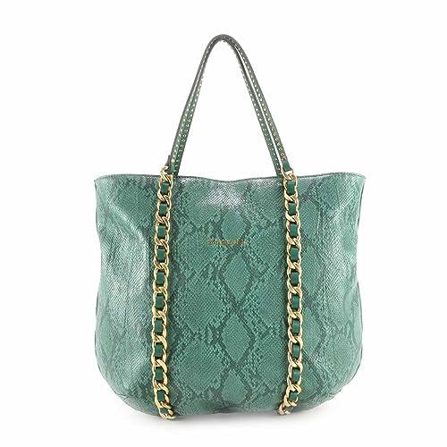 A Sisley Verde Fabula Colore Amazon Borsa Czquwys Spalla It Donna Linea xfZXZwtr