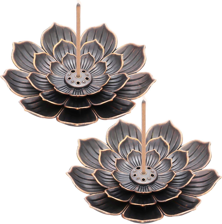 Soporte para Incienso, flor de loto