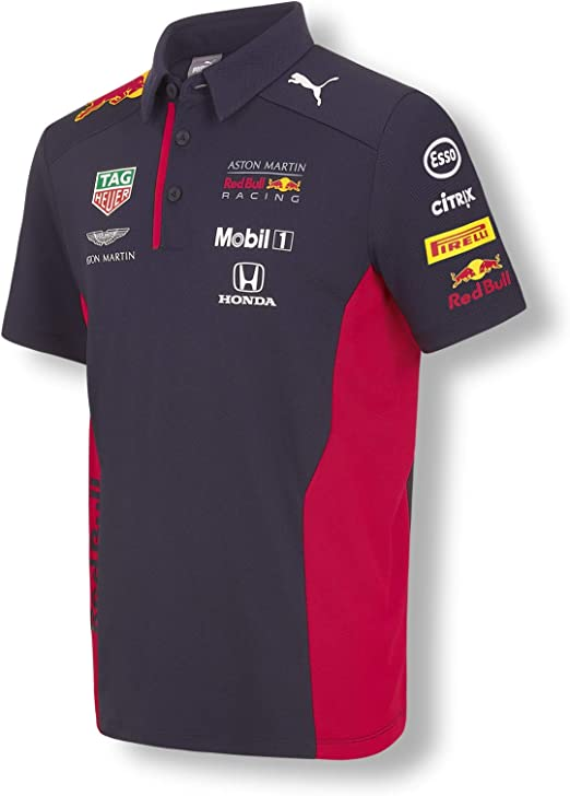 Red Bull Racing Official Teamline Camisa Polo, Niños Camiseta ...