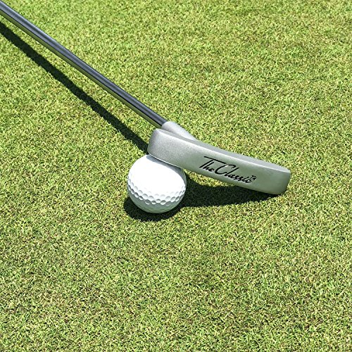 """GoSports The Classic Golf Putter - Premium Grip and Putt Putt Style Two-Way Head for Right or Left Handed Golfers - 35"""" Length"""