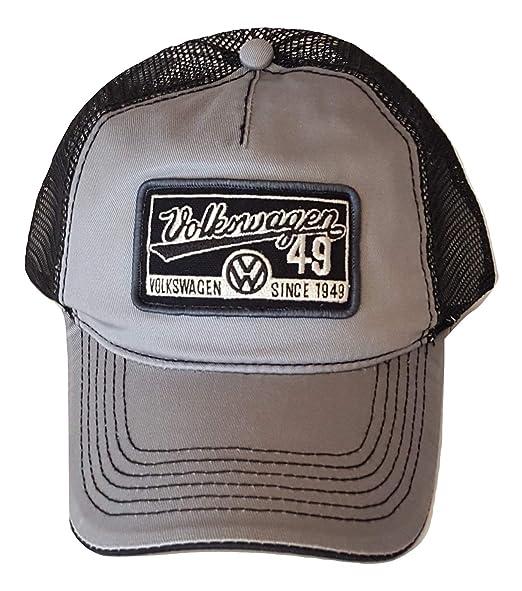 66ae81bf4 H3 Headwear Hat Volkswagen Mesh Trucker Snapback Cap Gray, Black at ...
