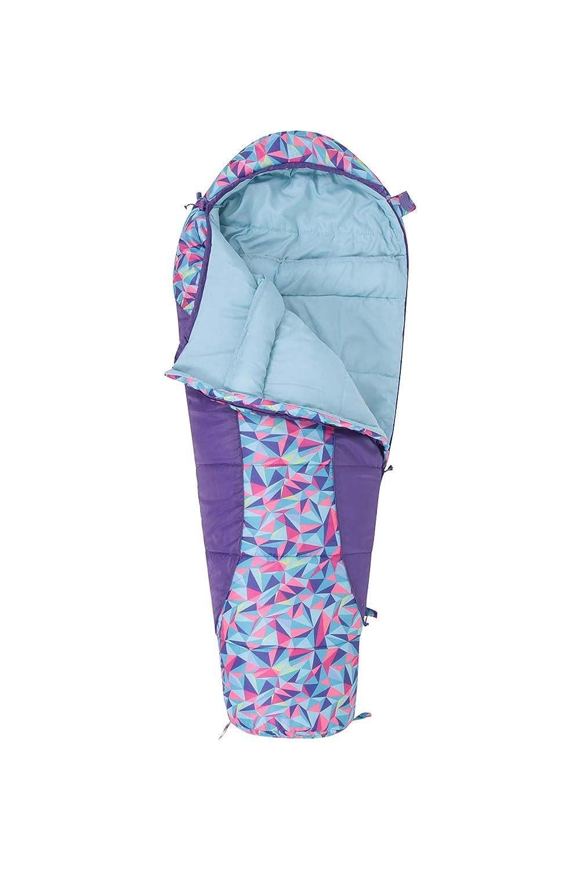 Mountain Warehouse Saco de Dormir Estampado Apex Mini Rosa Talla única: Amazon.es: Deportes y aire libre