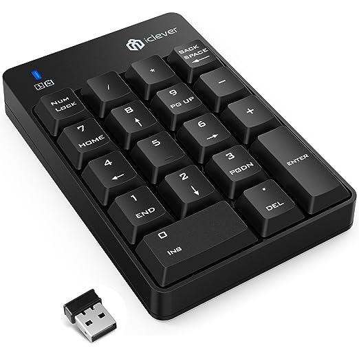 30 opinioni per [Keypad] iClever IC-KP01 Keypad/ Numeric Keypad / Tastierino Numerico a 18 Tasti