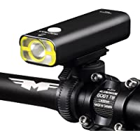Gaciron Bicycle Front Light USB Rechargeable, IPX6 Waterproof Cree LED Bike Headlight 400/600/800LM