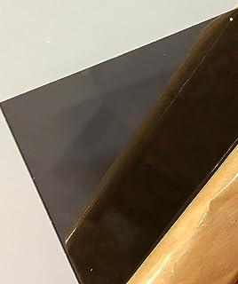 Amazon.com: SIBE-R PLASTIC SUPPLY - Dark Gray/Smoke Transparent ...