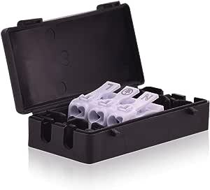 intratec terminales Caja Cable conector Caja 16 A 450 V T100 Conector caja con Clema 3 Vías en negro: Amazon.es: Bricolaje y herramientas