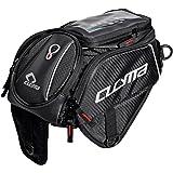 バイク用 タンクバッグ ショルダーバッグ ツーリングバッグ 強力マグネット バッグ 大容量