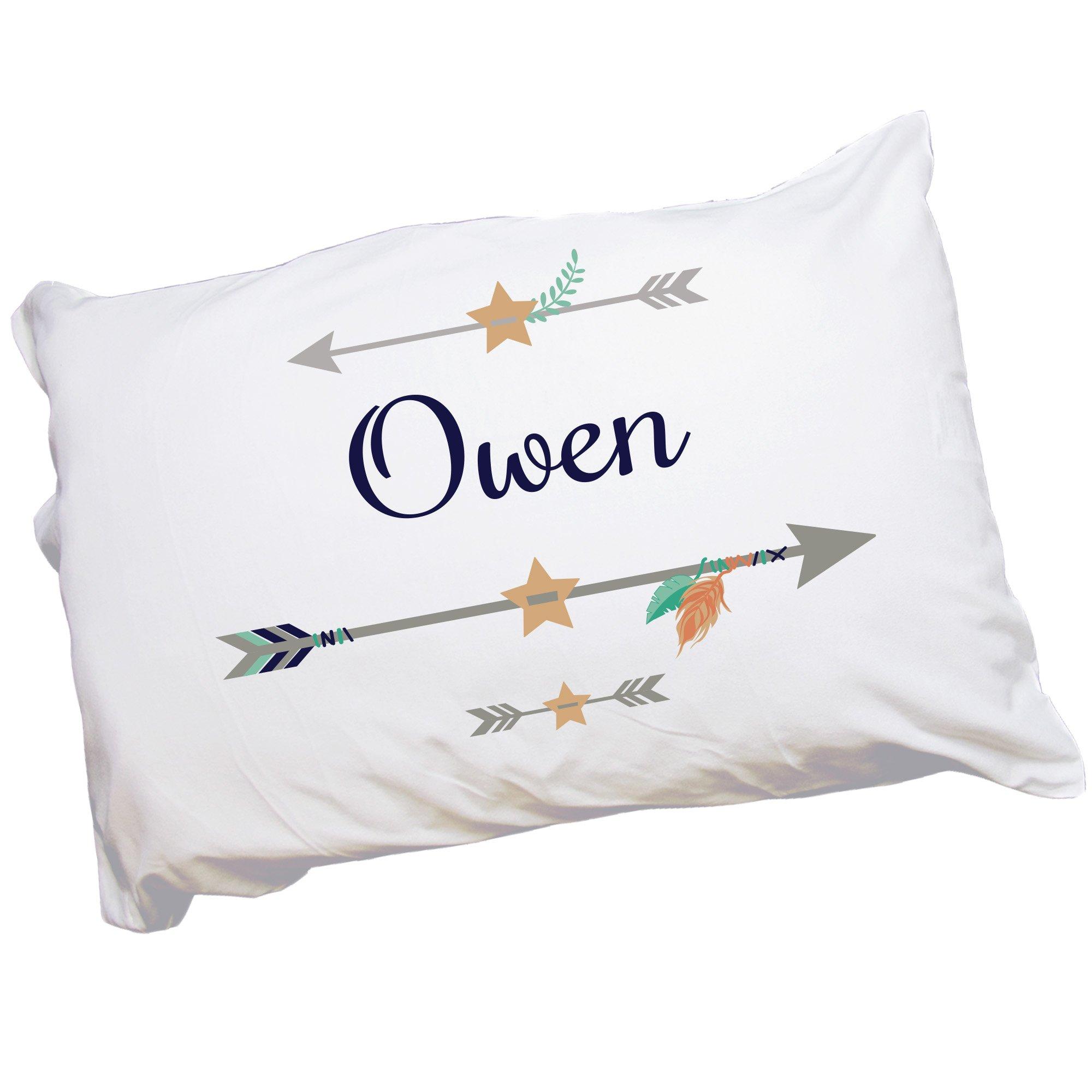 Custom Tribal Arrow Pillowcase