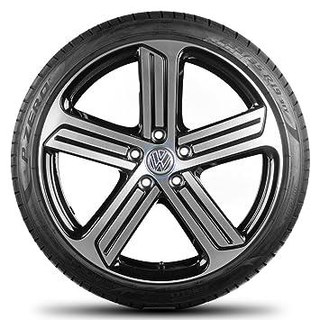 Volkswagen Golf 5 6 7 GTI GTD GTE 19 pulgadas Llantas Llantas Neumáticos de verano R Line Cadiz: Amazon.es: Coche y moto