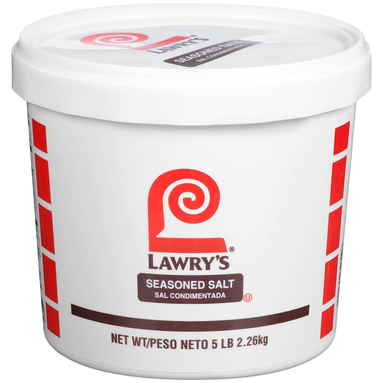 Lawry's Seasoned Salt, 5 lbs : Flavored Salt : Grocery & Gourmet Food