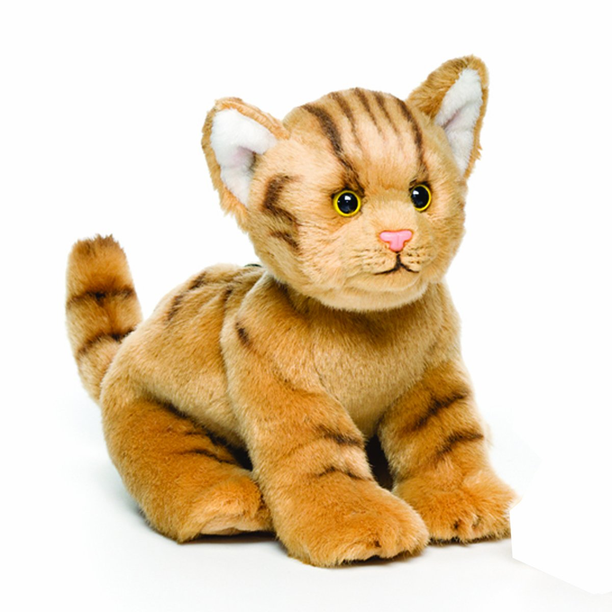 Amazon Com Nat And Jules Playful Small Tabby Cat Children S Plush
