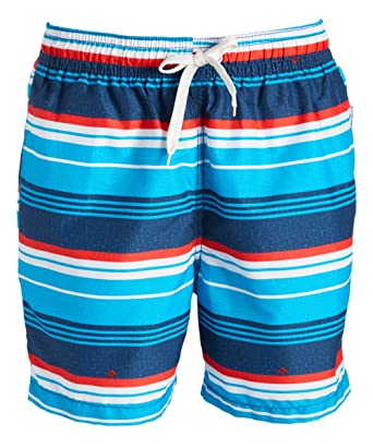 4d090ab6a2 Kanu Surf Men's Porta Stripe Volley Swim Trunk
