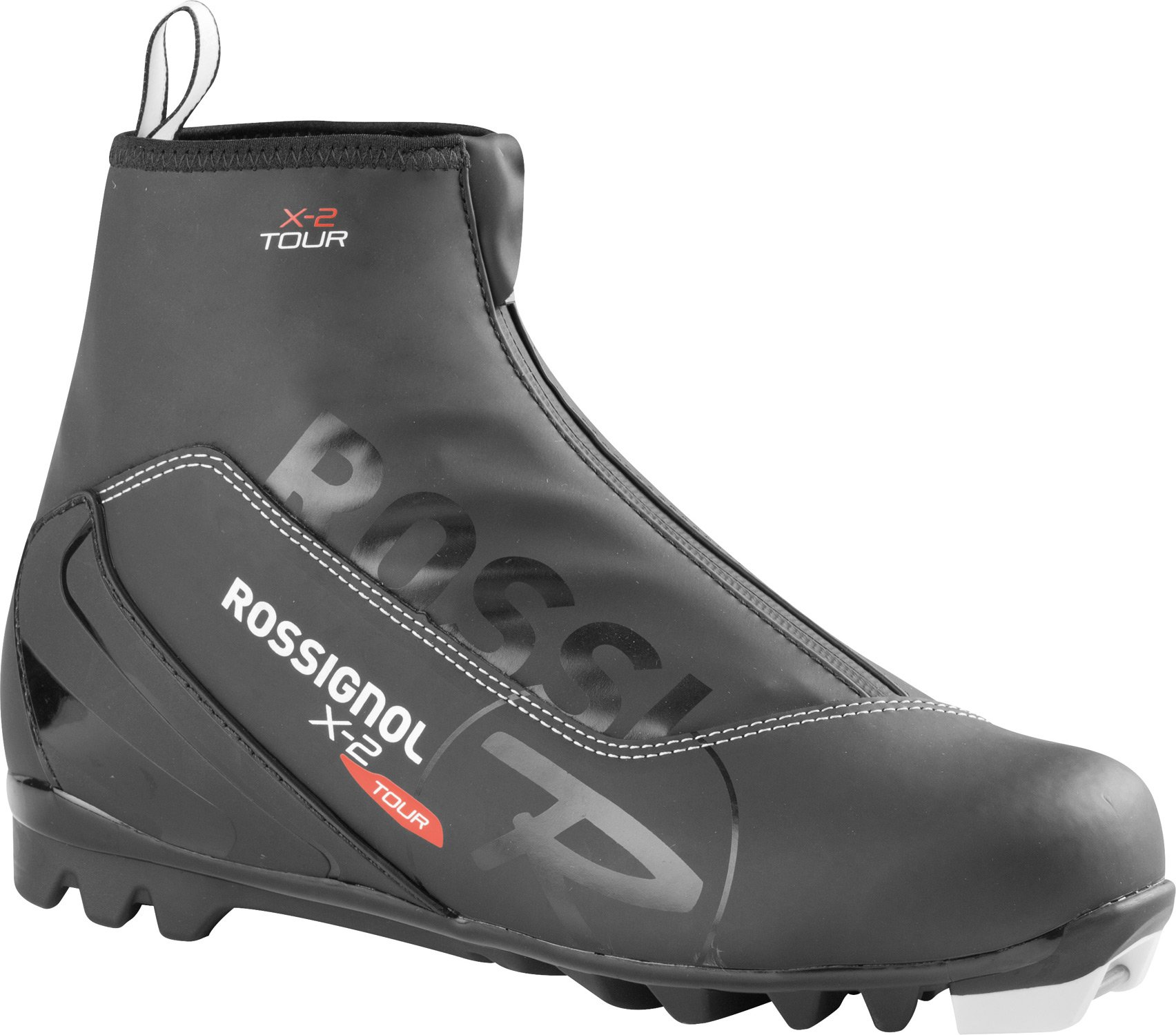 Rossignol X-2 NNN Cross Country Ski Boots - 48/Black by Rossignol